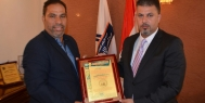 الاتحاد الدولي للصحافة العربية يُكرم ابو الهيل وتحالف الاعلام الوطني على جهودهما في تحرير الموصل