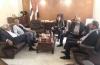 مجلس الامناء يستقبل الموسيقار نصير شمة