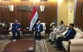رئيس مجلس الامناء يلتقي وزير التعليم العالي والبحث العلمي